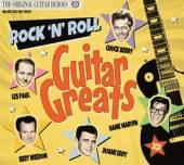 VARIOUS  - 2xCD ROCK'N'ROLL GUITAR GREATS