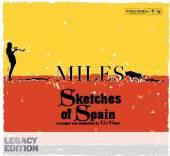 DAVIS MILES  - CD SKETCHES OF SPAIN..