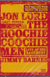LORD JON W.HOOCHIE COOCH  - 2xDVD LIVE AT THE BASEMENT