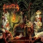 SINISTER  - CD+DVD THE CARNAGE ENDING