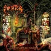 SINISTER  - CD THE CARNAGE ENDING