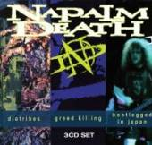 NAPALM DEATH  - CD DIATRIBES GREED K..