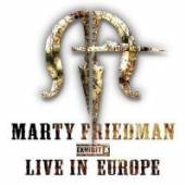 FRIEDMAN MARTY  - CD EXHIBIT A LIVE IN EUROPE