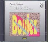 BOULEZ PIERRE  - CD STRUCTURES POUR DEUX PIAN