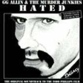 GG ALLIN  - CD HATED