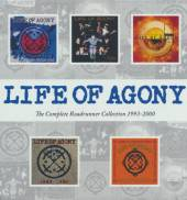 LIFE OF AGONY  - 5xCD COMPL. ROADRUNNER COLL.
