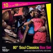 VARIOUS  - 10xCD 80'S SOUL CLASSICS BOX