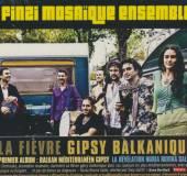 FINZI MOSAIQUE ENSEMBLE  - CD BALKAN MEDITERRANEEN GIPS