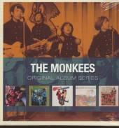 MONKEES  - 5xCD ORIGINAL ALBUM SERIES
