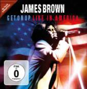 JAMES BROWN  - CD+DVD GET ON UP - LIVE IN AMERICA