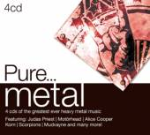 VARIOUS  - 4xCD PURE METAL