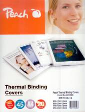 PEACH THERMAL BINDING COVERS COMB BOX PBT100-14 - supershop.sk