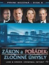 Zákon a pořádek: Zločinné úmysly - disk 6(Law & Order: Criminal Intent) - supershop.sk