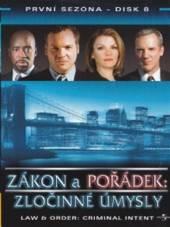 Zákon a pořádek: Zločinné úmysly - disk 8(Law & Order: Criminal Intent) - supershop.sk