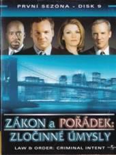Zákon a pořádek: Zločinné úmysly - disk 9(Law & Order: Criminal Intent) - supershop.sk