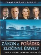 Zákon a pořádek: Zločinné úmysly - disk 11(Law & Order: Criminal Intent) - supershop.sk