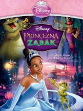 FILM  - DVD Princezna a žab..