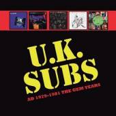 U.K. SUBS  - 5xCD AD 1979 - 1981 THE GEM YEARS