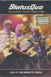 STATUS QUO  - 2xDVD Frantic Four's..
