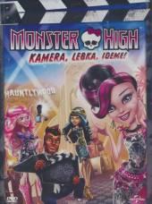 FILM  - DVD MONSTER HIGH: KAMERA, LEBKA, IDEME!
