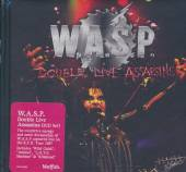 WASP  - CD+DVD DOUBLE LIVE A..