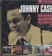 CASH JOHNNY  - 5xCD ORIGINAL ALBUM CLASSICS