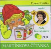 KONVALINKOVA NADA  - 2xCD MARTINKOVA CITANKA (EDUARD PETISKA)
