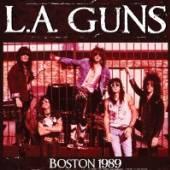L.A. GUNS  - CD LIVE IN BOSTON 1989