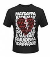 MAYDAY PARADE =T-SHIRT=  - TR HEART -M- BLACK