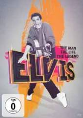 ELVIS  - DVD THE MAN THE LIFE THE LEGEND