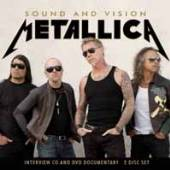 METALLICA  - CD+DVD SOUND AND VISION (CD+DVD)