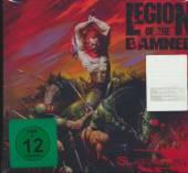 LEGION OF THE DAMNED  - DVD SLAUGHTERING (2 X DVD + CD)