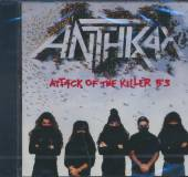 ANTHRAX  - CD ATTACK OF THE KILLER BS