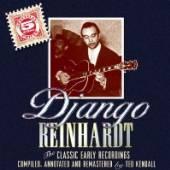 REINHARDT DJANGO  - 5xCD CLASSIC EARLY RECORDINGS