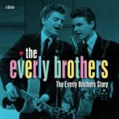 EVERLY BROTHERS  - 4xCD EVERLY BROTHERS STORY