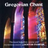 HORTUS MUSICUS  - CD GREGORIAN CHANT
