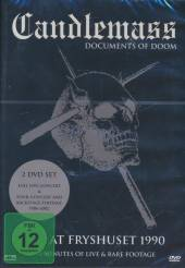 CANDLEMASS  - 2xDVD DOCUMENTS OF DOOM