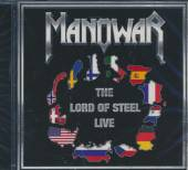 MANOWAR  - CD THE LORD OF STEEL LIVE
