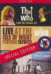 WHO  - 4xDVD WHO'S NEXT/ISLE OF..