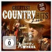 ASLEEP AT THE WHEEL  - CD GREATEST COUNTRY HITS LIVE. 2C