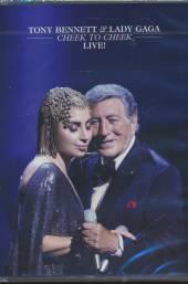 LADY GAGA  - DVD TONY BENNETT CHEEK TO CHEEK - LIVE