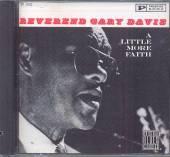 DAVIS REV GARY  - CD LITTLE MORE FAITH