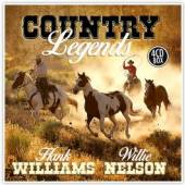WILLIAMS H./NELSON W.  - CD COUNTRY LEGENDS