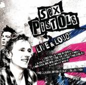 SEX PISTOLS  - CD LIVE AND LOUD