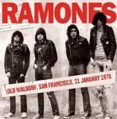 RAMONES  - CD OLD WALDORF, SAN ..