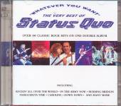 STATUS QUO  - 2xCD WHATEVER YOU WANT - THE VERY BEST