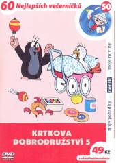 FILM  - DVP Krtkova dobrodružství 5 DVD