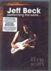 BECK JEFF  - DVD PERFORMING THIS ..