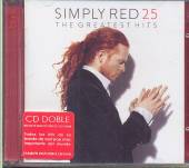 SIMPLY RED  - CD 25-THE GREATEST HITS (ARG)
