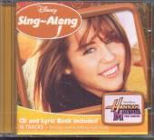 DISNEY SING-A-LONG  - CD HANNAH MONTANA (KAROK